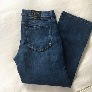 BR crop jeans